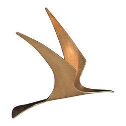 SOLD OUT!  Bronze Bird Sculpture by Curtis Jere - $1,800 Est. Retail - $590 on C -