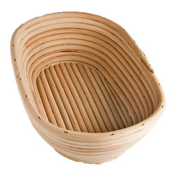 Frieling - Brotform, Oval - A Brotform bread dough rising basket gives your bread: