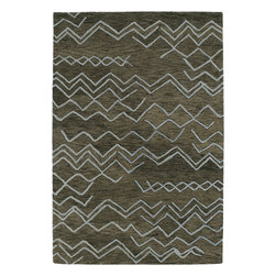 Kaleen - Kaleen Casablanca CAS05 (Ash) 8' x 11' Rug - Casablanca brings subtle Moroccan design and inspiration to a warm and calming retreat. Simplistic, geometric, and transitional designs, combined with a soothing and natural color pallet, will turn each room into a new magical oasis. These rugs are hand tufted from 100% wool in India.