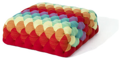 Eclectic Ottomans And Cubes by SCP Shop