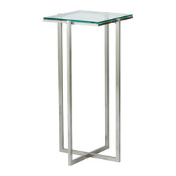 Tall steel table side end tables find side tables online for 12 wide side table