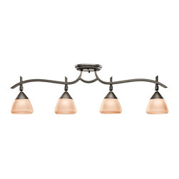 KICHLER - KICHLER 7703OZ Olympia Transitional Rail Light - KICHLER 7703OZ Olympia Transitional Rail Light