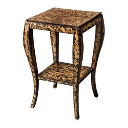 Leopard-print Accent Table - This is a small but significant piece to add some leopard print to your room.