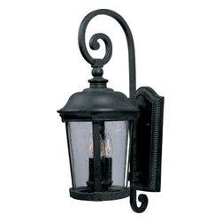Maxim Lighting - Maxim Lighting 40094CDBZ Dover VX 3-Light Outdoor Wall Lantern In Bronze - Features