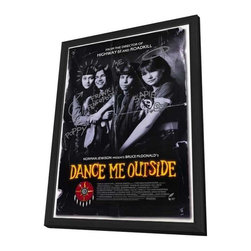 Dance Me Outside 11 x 17 Movie Poster - Style B - in Deluxe Wood Frame - Dance Me Outside 11 x 17 Movie Poster - Style B - in Deluxe Wood Frame.  Amazing movie poster, comes ready to hang, 11 x 17 inches poster size, and 13 x 19 inches in total size framed. Cast: Robert Frank Pegahmagabow