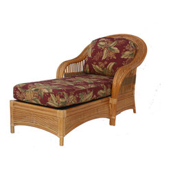 Lakeworth Rattan Chaise Lounge
