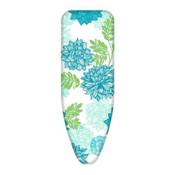 Minky Homecare - Minky Homecare Smart Fit Ironing Board Cover Multicolor - PP23004123 - Shop for Ironing Board Covers from Hayneedle.com! Think of the Minky Homecare Smart Fit Ironing Board Cover as a cover up for your cover up. There's no reason your ironing board shouldn't look as good as the clothes it helps you press. The attractive floral design adds a splash of color to an otherwise dreary task helping you enjoy your chores a little bit more. Ironing covers up all those little indiscretionary wrinkles in laundry and this cover for your ironing board helps you work out those creases more quickly and more completely. The felt backing gives your board a smoother quicker glide for better pressed clothing and linens. The super tight elastic fastener allows you to attach this cover to any standard-sized ironing board up to 54L x 14W inches right over your existing cover.About Minky HomecareWith a history that stretches clear back to the mid-nineteenth century Minky Homecare has the experience and integrity to ensure that your housework is quick and easy. Part of Vale Mill Minky Homecare is a family owned and run business which means personal care and commitment to developing the very best cleaning products on the market. From prepacked cleaning cloths to ironing boards from air driers to household cleaners and organizers Minky has been on the cutting edge of homecare for over half a century. As a result they have grown into international markets and have even been granted a warrant by the British Royal Household. With Minky Homecare housework is a pleasure and does itself when you don't want to.