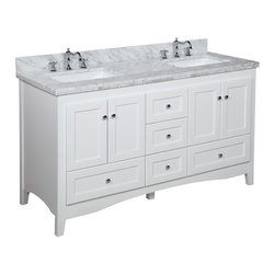 Shop 54 Inch Double Bathroom Vanity Bathroom Vanities on Houzz