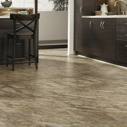 Tranquility Tuscan Amber Vinyl Wood Plank -