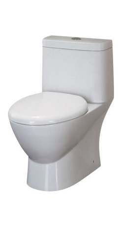 EAGO - EAGO TB346 Elongated One Piece Dual Ultra Low Flush Eco Friendly Toilet - We are very excited to offer you this top of the line brand of eco-friendly dual flush low consumption modern smart toilets. Join the latest fashion trend with EAGO's innovative line of green products.
