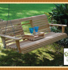 traditional outdoor swingsets by Cypress Moon