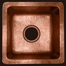 Contemporary Bathroom Sinks by Deluxe Copper