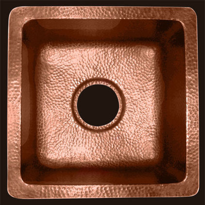 Contemporary Bar Sinks by Deluxe Copper
