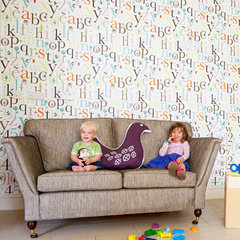 contemporary wallpaper by Isak