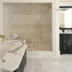 traditional bathroom tile by Art of Tile and Stone