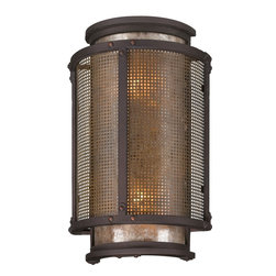 Troy Lighting - Troy Lighting B3272 Copper Mountain Outdoor Wall Sconce - Troy Lighting B3272 Copper Mountain Outdoor Wall Sconce