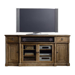 Hooker Furniture - Hooker Furniture South Park 72 Inch Entertainment Console - Hooker Furniture - TV Stands - 509055486 - Work smarter live better with functional stylish and comfortable home entertainment furniture from Hooker Furniture.