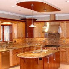 Traditional Kitchen by Stone Art Design, Inc.