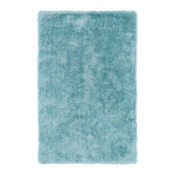 "Kaleen - Kaleen Posh Collection PSH01-79 2'3"" x 8' Light Blue - Posh is the perfect rug to make your feet say ooh and ahhh!! Super plush and silky to the touch, this hot new shag rug is exactly what your room has been asking for! Find the perfect spot to curl up on after a long day or bring in your favorite pop of color for a complete room makeover. The Posh collection allows for diversity and fashionable style for all of your decorating needs with over 20 colors to choose from. Each rug is handmade in China of the finest 100% polyester."