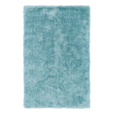 Kaleen - Kaleen Posh Collection Psh01-79 3'X5' Light Blue - Posh is the perfect rug to make your feet say ooh and ahhh!! Super plush and silky to the touch, this hot new shag rug is exactly what your room has been asking for! Find the perfect spot to curl up on after a long day or bring in your favorite pop of color for a complete room makeover. The Posh collection allows for diversity and fashionable style for all of your decorating needs with over 20 colors to choose from. Each rug is handmade in China of the finest 100% polyester.