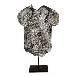 Studio Eight - Contemporary Modern Abstract Sculpture, GHOST TORSO by Charles Sabec, 2014. - GHOST TORSO