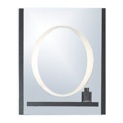 Mirror with Integrated Lighting - Matera -