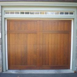 Custom Wood Doors -