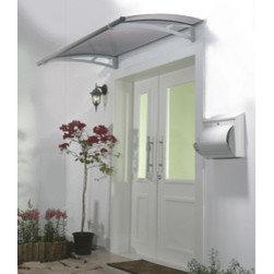 Poly-Tex, Inc. - Aquila 1500 Door Awning, Grey - Features: