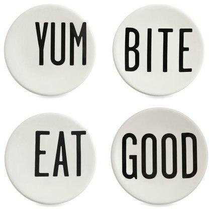 Modern Dinner Plates by Bed Bath & Beyond