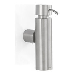 Duo Wall-Mounted Soap Dispenser, Brushed