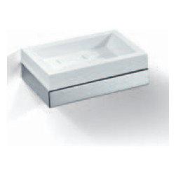 Modo Bath - Flash L205 BIA Soap Dish Holder in Chrome - Flash L205 BIA Soap Dish Holder in Chrome