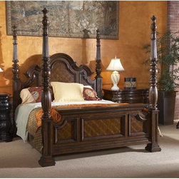 Fine Furniture Design Villa Cascina California King Poster Bed -