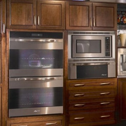"Dacor - MOH227S Discovery Millennia Series 27"" Double Electric Wall Oven with 3.7 cu. ft - The new style Millennia wall ovens are designed to accommodate the most serious chefs while maintaining ease-of-use Featuring a large cooking capacity 37 cubic feet per oven an increased viewing area and the straight-forward Discovery Controller it m..."