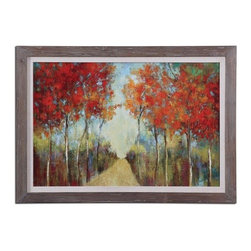 """Uttermost - Uttermost 41525 Nature's Walk 41.625""""W x 29.625""""H Impressionist Painting - Features:"""