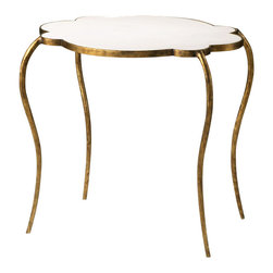 Cyan Design - Flora Side Table-03039 - Flora side table - gold