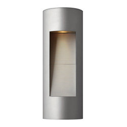 "Hinkley Lighting - Hinkley Lighting 1660-LED 16.75"" Height ADA Compliant Dark Sky LED Outdoor Wall - 16.75"" Height ADA Compliant LED Dark Sky Outdoor Wall Sconce from the Luna CollectionFeatures:"