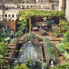 Hidden Behind the Master Bath, a Secret Garden in Chelsea - On the Market - Curb
