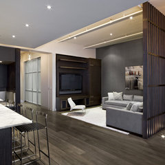 contemporary living room by GRADE