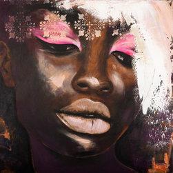 "SCANDINAVIAN ART FACTORY - ""Reflection""   - Large Artwork - NAME-""REFLECTION"""