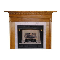 Agee Woodworks Victorian Wood Fireplace Mantel Surround - About This Fireplace MantelThe Agee Woodworks Victorian Wood Fireplace Mantel Surround is an elegant example of modern design on a traditional home accent. The pillars are deconstructed to simple straight panels and then connect around at the top. Assembly is a snap since most of it is complete out of the box. The final choices are left up to you this mantel ships unfinished ready to paint or stain and install. Choose between birch or oak solids in a wide selection of custom-cut sizes. About Agee Woodworks Inc.Ashland Va.'s Agee Woodworks Inc. focuses on three key manufacturing aspects: service quality and customization. Each handcrafted Agee fireplace mantel is made to order by one specific craftsman - and with a variety of value and custom options there's one for every budget. The highest-quality materials used - and individualized construction process during which a mantel's legs header and shelf are applied to a specified-size frame - ensure long-lasting one-of-a-kind products. Mantels can be primed painted or stained before delivery or can be shipped unfinished so customers can finish them at home.