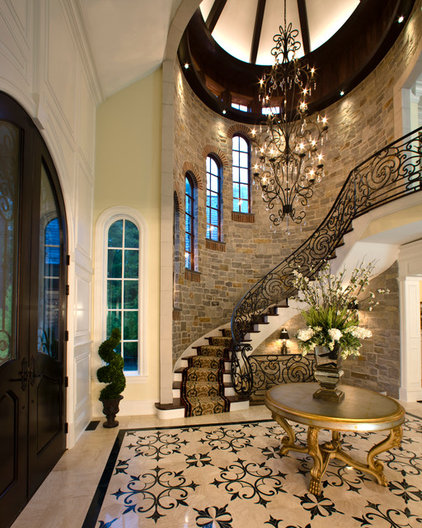 Traditional Entry by Kobolak & Son Custom Cabinetry