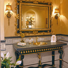 traditional bathroom by Debra Kay George Interiors
