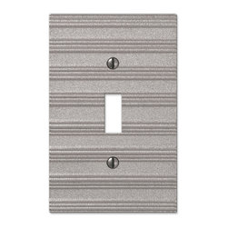 Chemal Frosted Nickel Switchplates - Chemal Frosted Nickel wallplate  is  available in 15 configurations and several finishes.