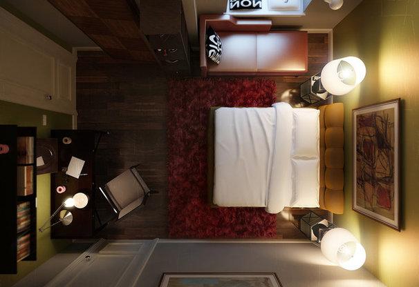 Contemporary Bedroom by VANGUARD development