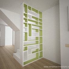 Contemporary Staircase by Inhabit Architecture