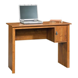 Sauder - Sauder Office Desk in Abbey Oak - Sauder - Computer Desks - 408744 - Sure, lots of office and home furnishing manufacturers can help you create an organized, comfortable and fashionable place to live. But Sauder provides a special kind of furniture that is practical and affordable, as well as attractive and enduring. As North America's leading producer of ready-to-assemble furniture, we offer more than 500 items that have won national design awards and generated thousands of letters of gratitude from satisfied consumers.