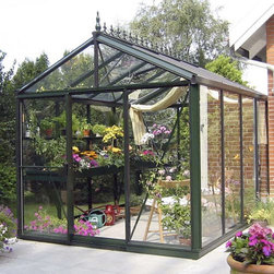 Large Royal Victorian Greenhouse - This is an unbelievable structure for anyone with a serious gardening addiction. It's beautiful and allows growing year-round. It's classic Victorian frame would be an incredible focal point in any back yard.