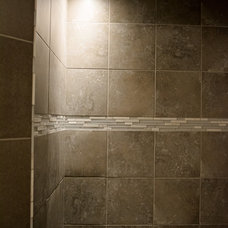 Modern Bathroom by Integral Tile