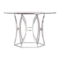 "Bernhardt Interiors - Bernhardt Interiors Argent Round Dining Table 48"" 326-771/326-048G - Bernhardt Interiors Argent Round Dining Table 48"" 326-771/326-048G."