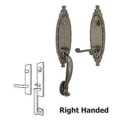 Fusion | H-AE-N8-0-ATP-R | Antique Pewter | Door Hardware -